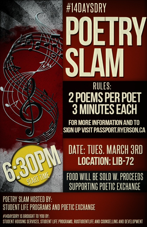 #14Days Poetry Slam