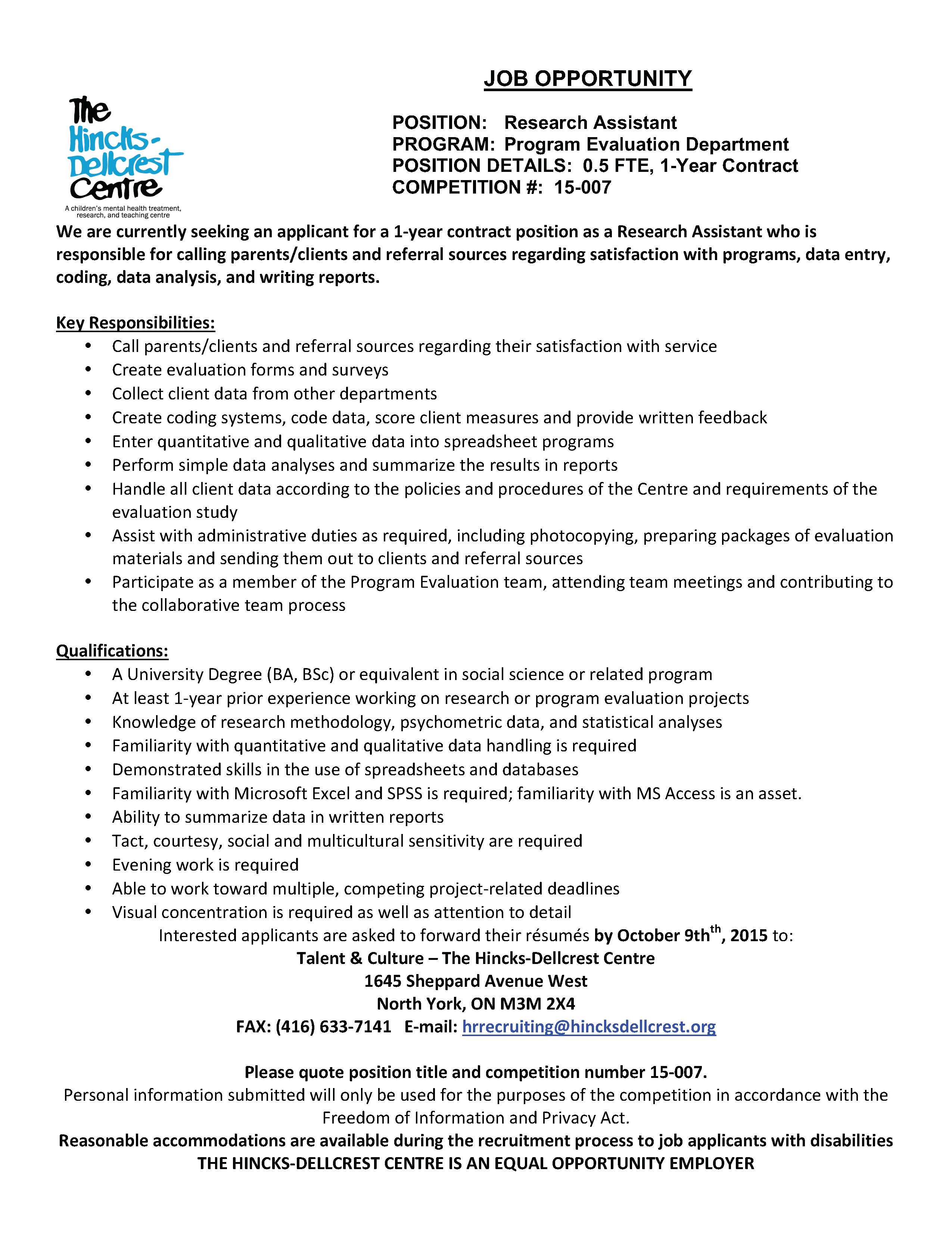 research study assistant Herc jobs: research - laboratory/non-laboratory, staff/administrative, , evanston, illinois , research study assistant at northwestern university.