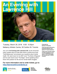 Lawrence Hill Flyer