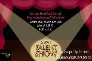 SWAT Talent Show