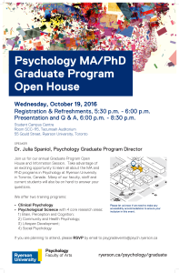 Psych Open House (PRESS)