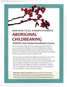 Aboriginal Childbearing 2018[1]