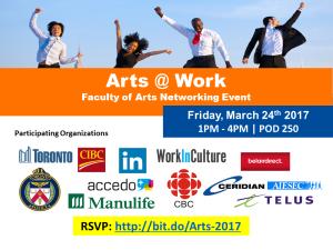 Arts @ Work Social 2017